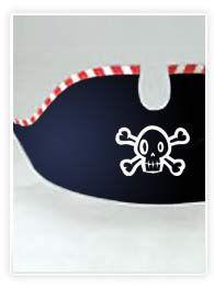 chapeau de pirate à imprimer