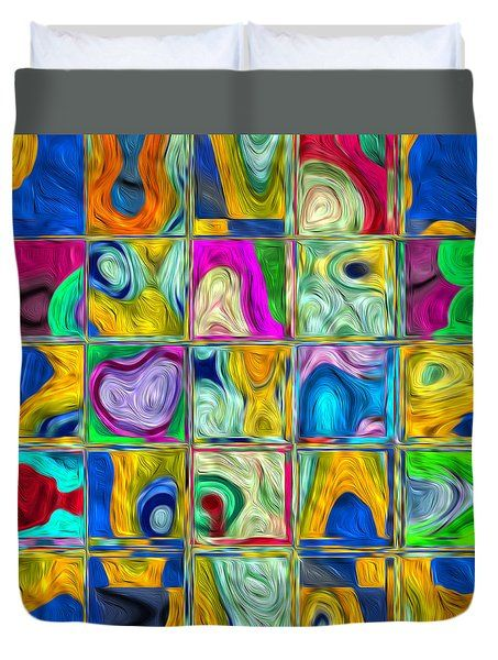The World In Pictures Duvet Cover by Galeria Zullian  Trompiz