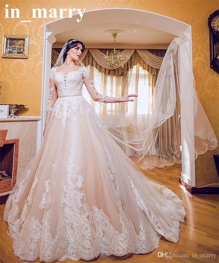 Elegant Two Pieces Lace Arab Wedding Dress Sheath 2017: 17 Best Ideas About Arabic Wedding Dresses On Pinterest