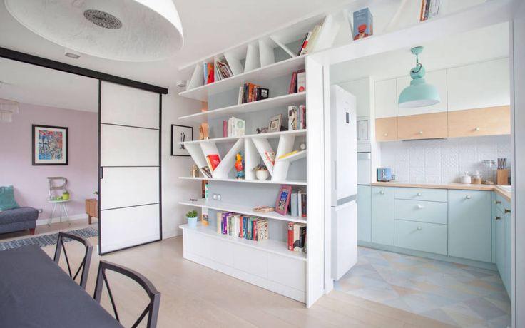 Małe mieszkanie w stylu skandynawskim zobacz na myhome.pl