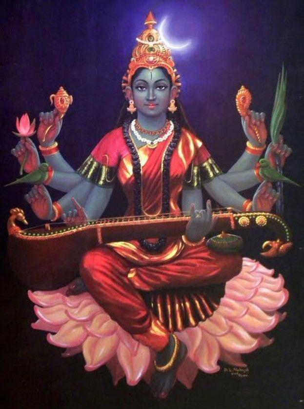 #12-Amazing Pictures of Goddess Lalitha Parameswari-Set2 | ANURADHA MAHESH