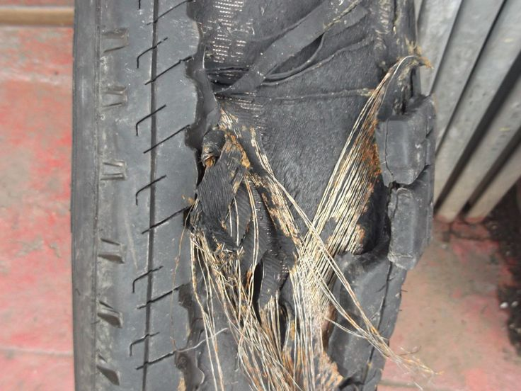 tyre safety-caravan tyre that was too old and blew out #PellonBlog