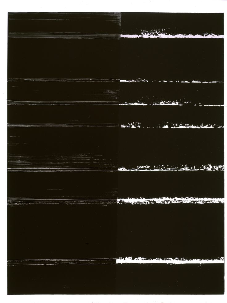 Peinture 9   Pierre Soulages, 2000   Pittura Poesia e Luce del Nero