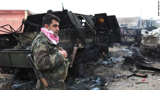 Yazidis get relief, reason to cheer as Kurds take key town from ISIS - CNN #Yazidis, #Kurds, #ISIS