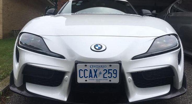The Ultimate Rebadging Machine: Toyota Supra Owner Slaps BMW Badges On Sports Car