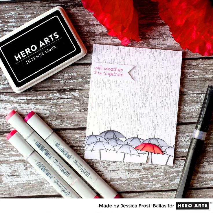 My Monthly Hero: Creativity in a Box February 2017 kit idea #5 by Jessica Frost-Ballas. Kit and add-ons available for purchase Monday, February 6. #mymonthlyhero
