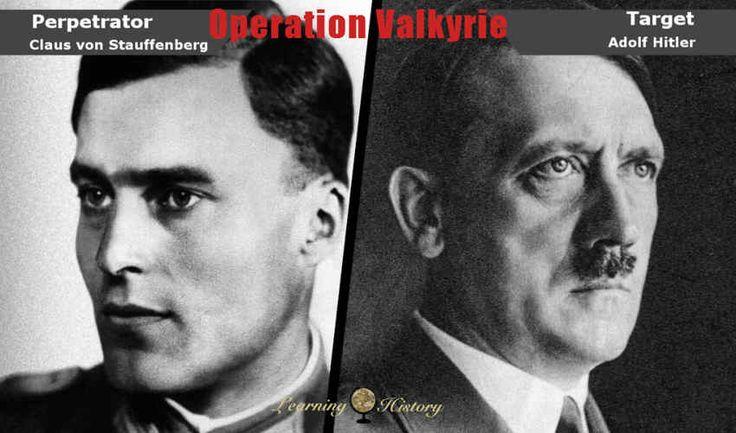 World War II: Operation Valkyrie the Plot Against Hitler | via @learninghistory