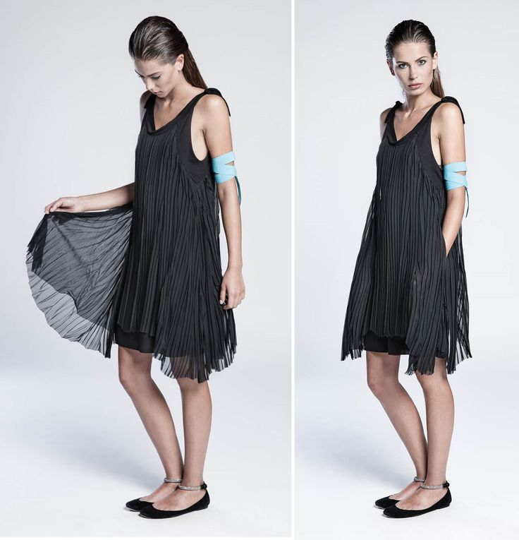 #SS15 #terrealtestyle #handmade #madeinitaly #luxury #knitwear #clothes #fashion #style Plissé dress