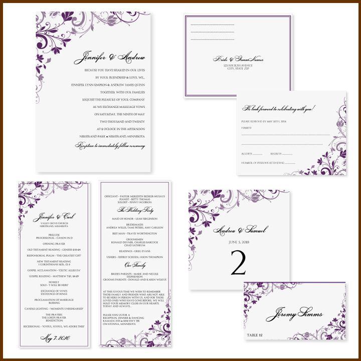 best 25+ free wedding invitation templates ideas on pinterest, Wedding invitations