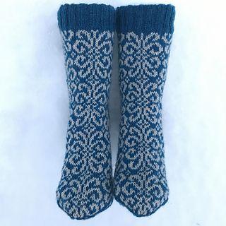 liwes' Doodle socks