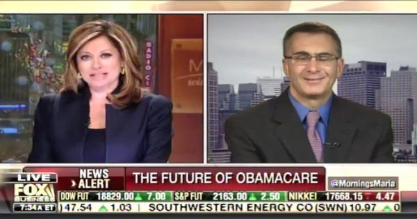 'This is brutal': Maria Bartiromo 'just REAMED' Jonathan Gruber over Obamacare