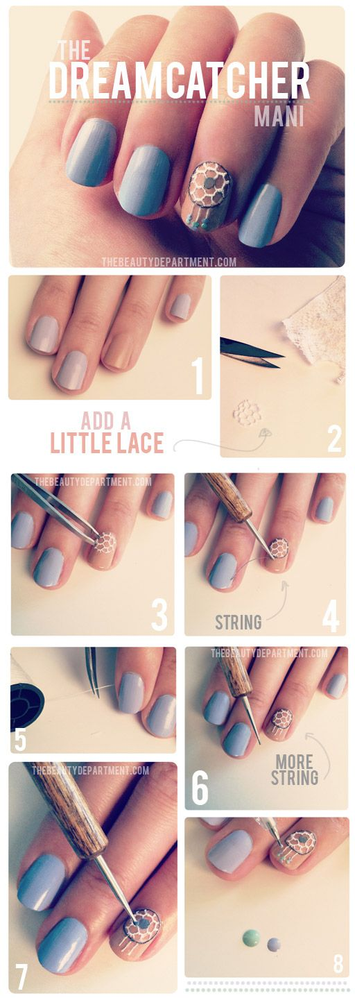 The Beauty Department: The Dreamcatcher Mani