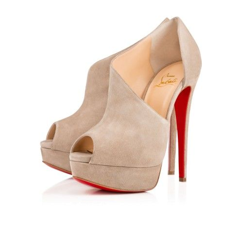 Chaussures femme - Verita Veau Velours - Christian Louboutin