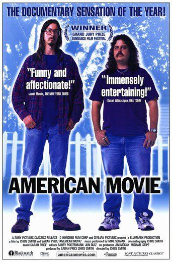 American Movie (1999) | http://www.getgrandmovies.top/movies/8951-american-movie | AMERICAN MOVIE is the story of filmmaker Mark Borchardt, his mission, and his dream. Spanning over two years of intense struggle with his film, his family, financial decline, and spiritual crisis, AMERICAN MOVIE is a portrayal of ambition, obsession, excess, and one man's quest for the American Dream.