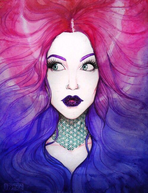 171 Best Girl Amp Woman Art Images On Pinterest Woman Art