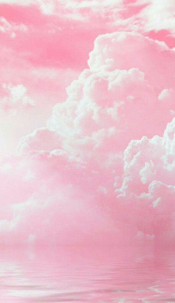 Pin By Kathleen On Oboi Pastel Pink Aesthetic Pink Clouds