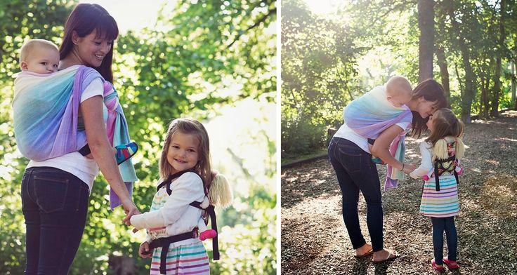 Krystal is back for the second installment of our two part series on babywearing in celebration of International Babywearing Week. Today's post explores the various carrying options available with wraps and ring slings.| Snuggle Bugz Blog