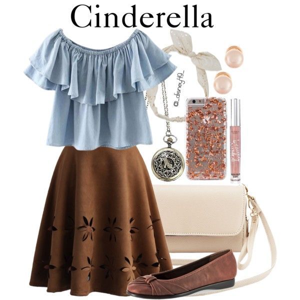 A fashion look from May 2016 by disney49 featuring Chicnova Fashion, Chicwish, Easy Street, Charlotte Russe, Kenneth Jay Lane, Disney, Carole and Victoria's Secret