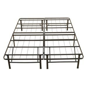 Boyd Specialty Sleep, Queen-Size Rest Rite Metal Platform Bed Frame, MFP00112BBQN at The Home Depot - Mobile