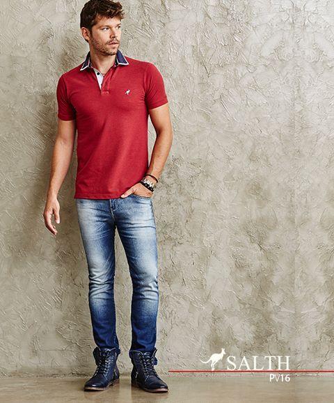 Camisas polo é sempre uma ótima opção para seu look, pois são casuais sem serem desleixadas e formais mas não ao extremo. Quando se trata de uma polo SALTH, não tem como resistir.🆒👍😎   www.salth.com.br  #salth #primaveraverao16 #polo #estilo #moda #fashion