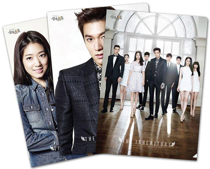K-Drama The Inheritors Heirs 3 Sheets of Clear File Set Lee Minho Park Shin Hye
