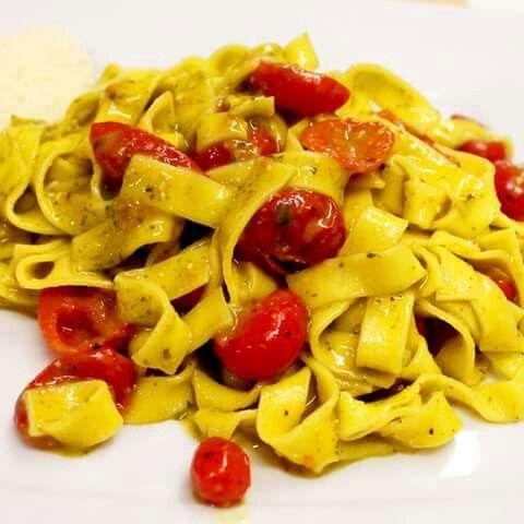 Pesto e pomodorini