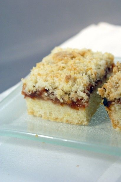 Earl Grey Plum Preserve Crumb Bars | Tasty Kitchen: A Happy Recipe Community!