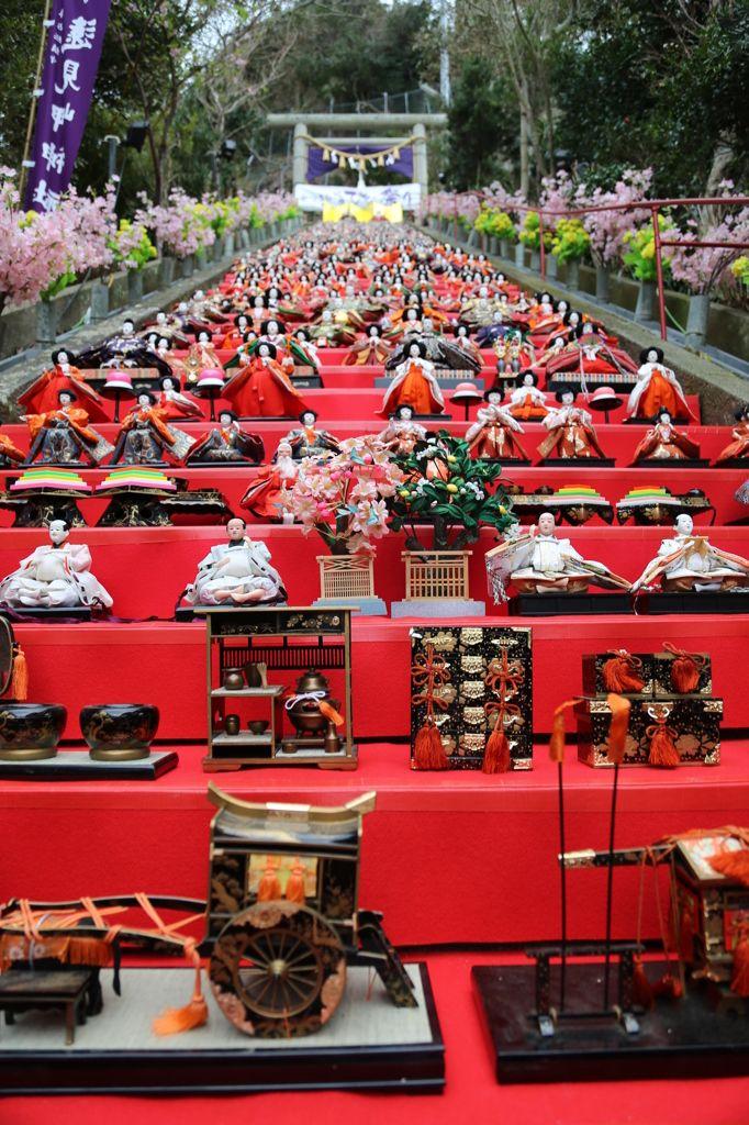 katsuura Hina matsuri 勝浦ひな祭り