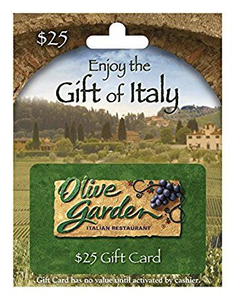Amazon.com: Olive Garden $25 Gift Card: Gift Cards