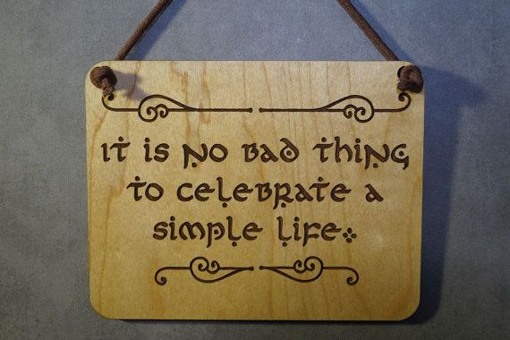 Lord of the Rings, LOTR, Hobbit, Small Plaque,Laser Engraved Wood, Laser Cut Mini Wall Hanging, Wedding