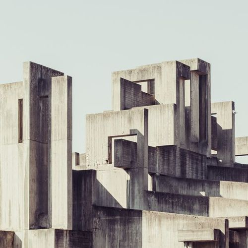 architorturedsouls:  Concrete Cross by Florian Mueller, via Behance