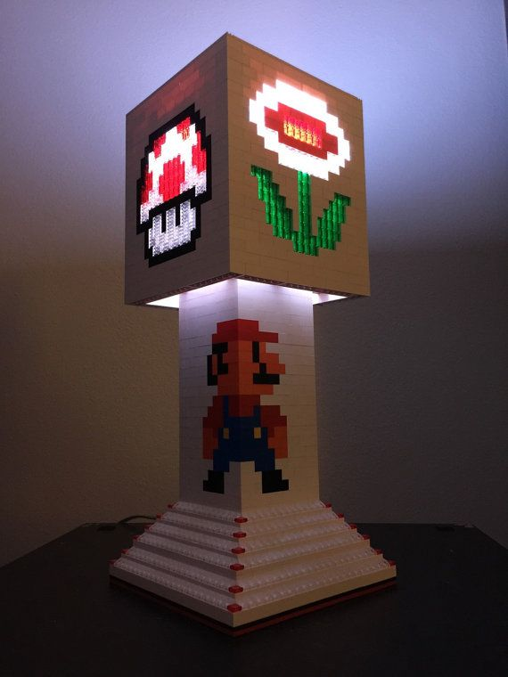 Hey, I found this really awesome Etsy listing at https://www.etsy.com/listing/196992375/mario-brothers-lego-lamp