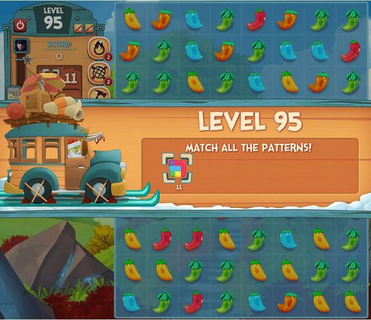 Pepper Panic Saga Level 95 - Guide With Video - Pepper Panic Tips http://pepperpanictips.com/pepper-panic-saga-level-95/