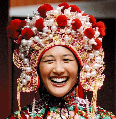 Traditional Chinese Headdress | Headdress | Pinterest