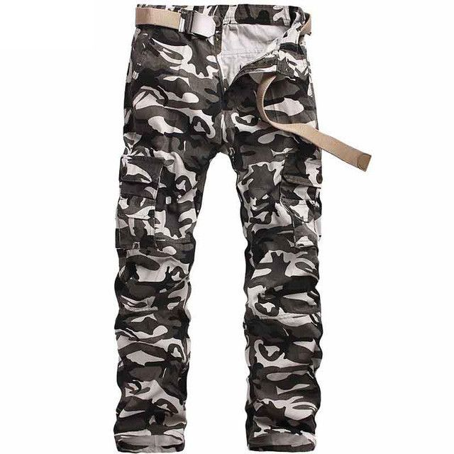 2017 Camouflage Tactical Military Clothing Paintball Army Cargo Pants Combat Trousers Multicam Military