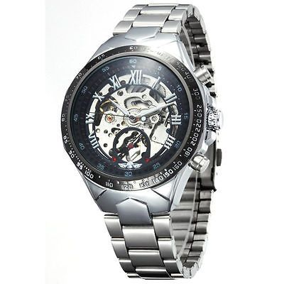 Montre Homme  Luxe Automatique Mécanique Squelette   -Men Watch Mechanical