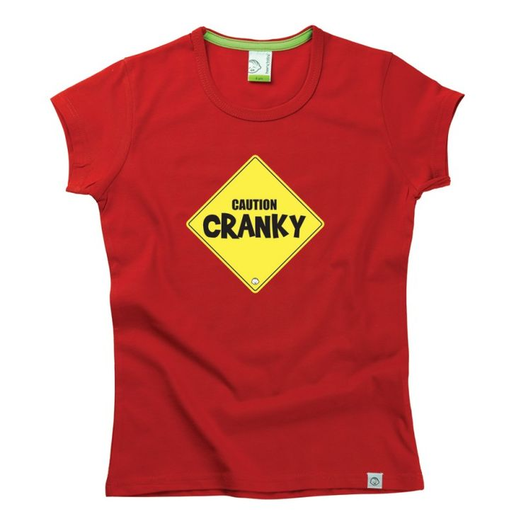 Caution Cranky Kids T-Shirt by Hairy Baby