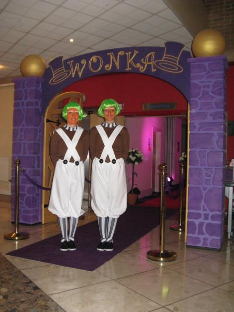 Wonka And The Chocolate Factory Party Themes