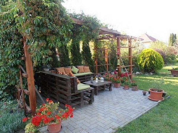 10 espacios decorados con palets de madera