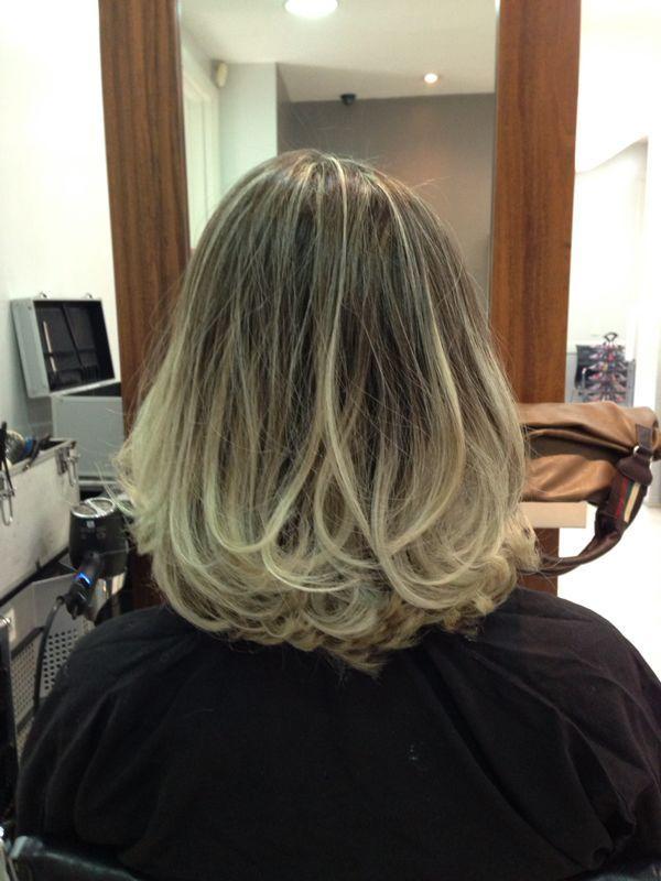 Ombé hair no cabelo curto