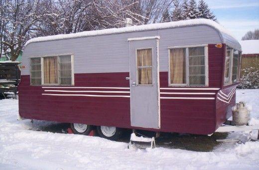 17 best images about vintage trailers on pinterest vintage trailers canned ham and glamping. Black Bedroom Furniture Sets. Home Design Ideas