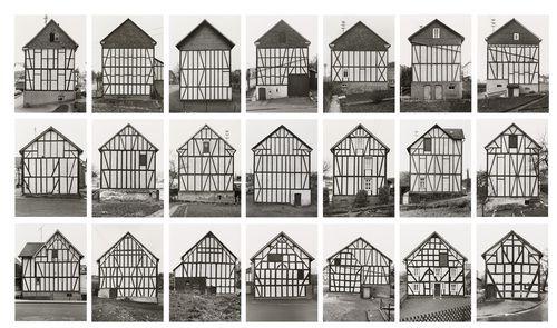 Bernd Becher, Hilla Becher. Framework Houses. 1959-73