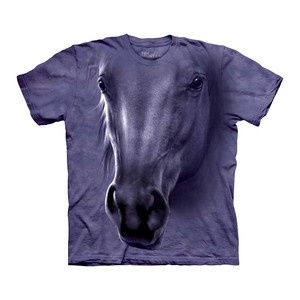 Horse Head Tee Adult now featured on Fab.