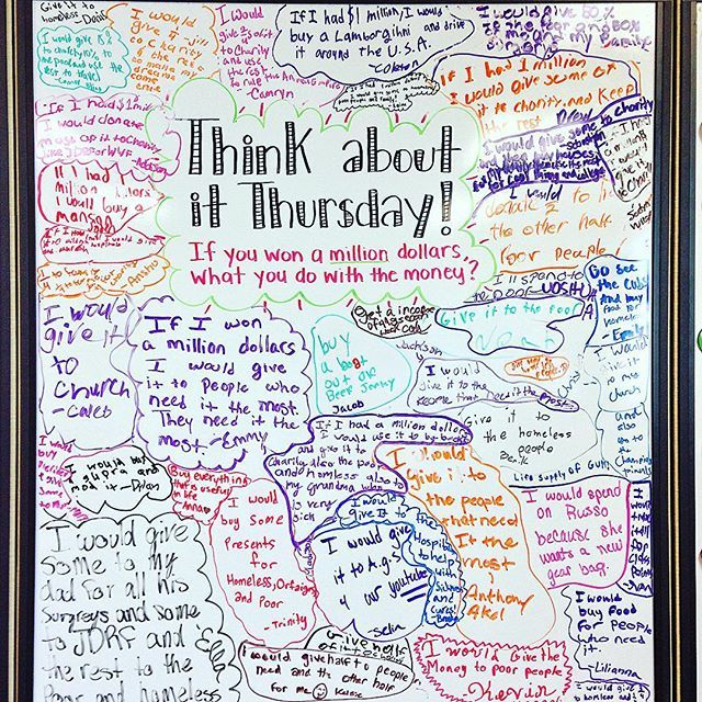 I think this one was their favorite whiteboard we've done so far! There wasn't…
