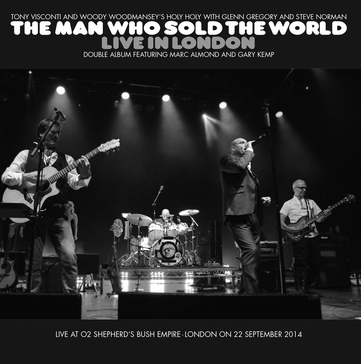 The Man Who Sold The World Live in London – Tony Visconti & Woody Woodmansey's Holy Holy | God Is In The TV
