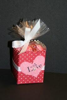 Milk carton valentine craft