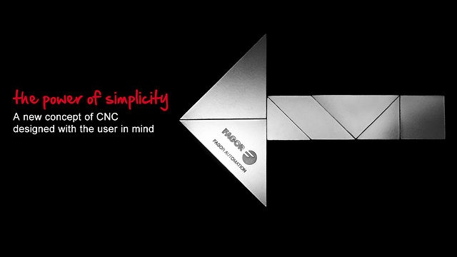 "Vídeo ""the power of simplicity"" para FAGOR AUTOMATION"