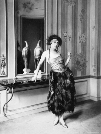 """He has designed dresses for his wife from monkey fur.Poiret was said: """"My wife is the inspiration for all my creations, she is the expression of all my ideals"""""""