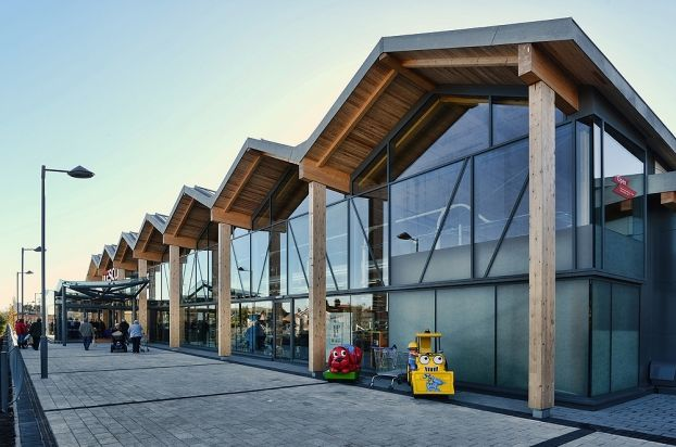Tesco Superstore by S+SA Architects. #wanawards #architecture