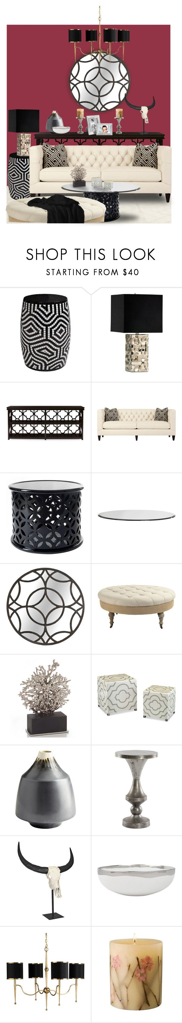 """Untitled #552"" by cemen ❤ liked on Polyvore featuring interior, interiors, interior design, home, home decor, interior decorating, Trilogy, Rosy Rings and Arthur Court Designs"